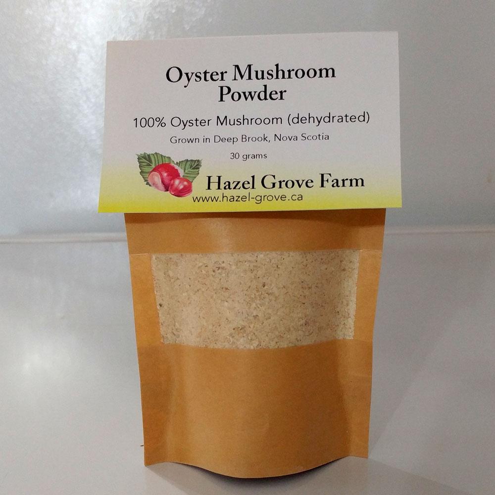 Dried Oyster Mushroom Powder